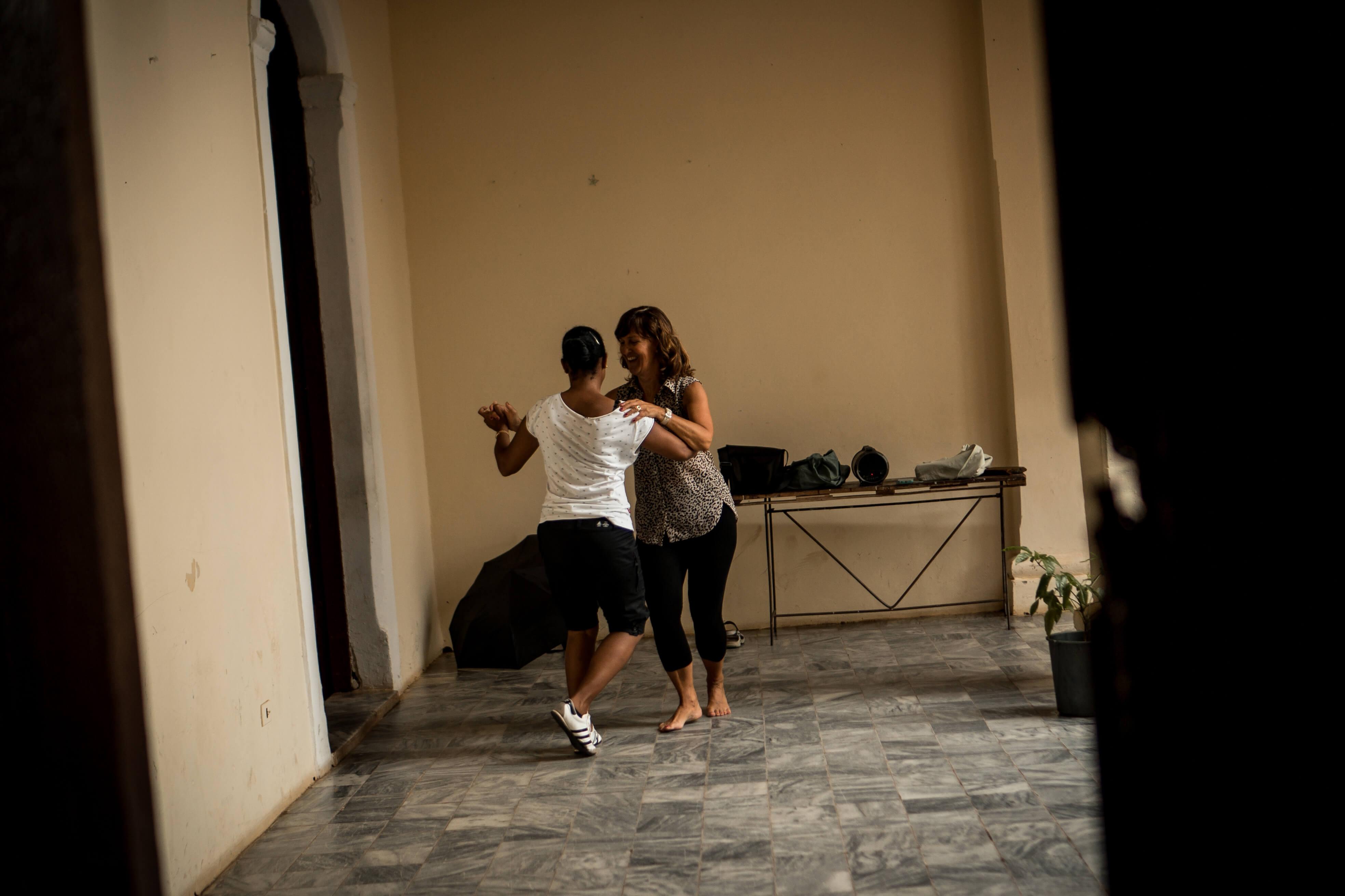 Tanzen mit Mamuchi