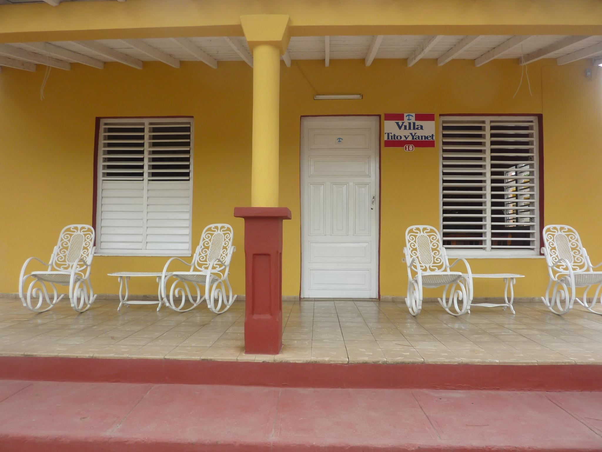 Unterkunft in Vinales auf Kuba