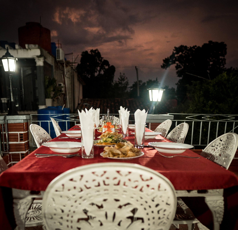 Abendessen in der Casa